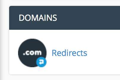 domains-redirects