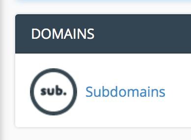 domains-subdomains